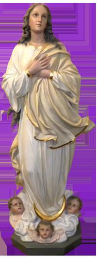 Statue from the Original Church in 1901